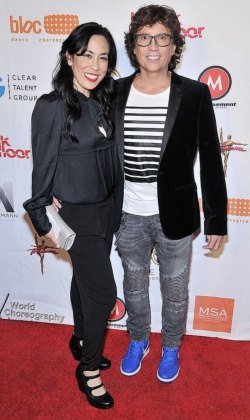 Fred's 2nd WCA nomination with Sarah on red carpet