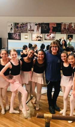 Fred and the Ballerinas