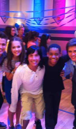 choreographing the cast of Lab Rats