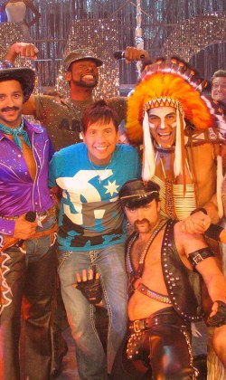 choreographing the Village People for Jamie Jing's production of Go West
