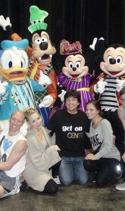 directing & choreographing Disney Live!