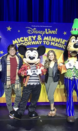 opening night for Disney Live! directed and choreographed by Fred