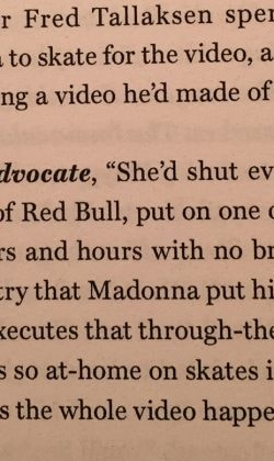 quote in Madonna encyclopedia