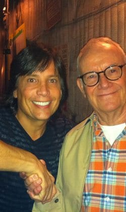 Fred with Buck Henry