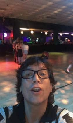 choreographing roller disco on Valley Girl