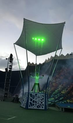 directing & choreographing Extreme Beam for Sea World San Diego