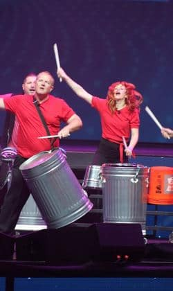 Fred performs with Rhythm Extreme