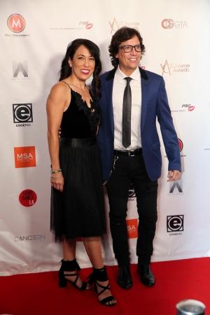 Fred & Sarah at world choreography awards