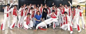 directing & choreographing Elvis x 30