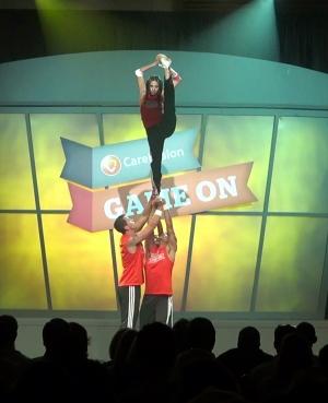 cheerleader choreography