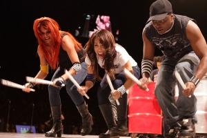 Sarah, Tera and Keith of Rhythm Extreme