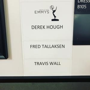 Emmy awards dressing room