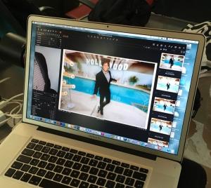 Emmy magazine photo shoot
