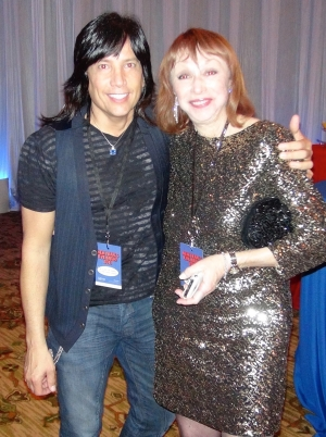 with dear friend and mega producer Andrea Michaels