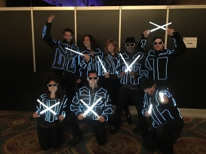 directing & choreographing Light Force in Vegas