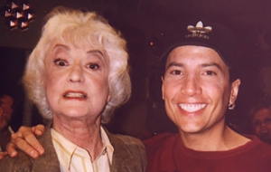 choreographing Bea Arthur on Malcolm in the Middle